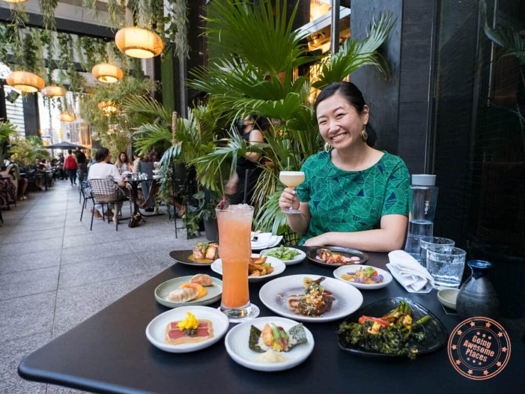 chotto matte patio deluxe nikkei menu