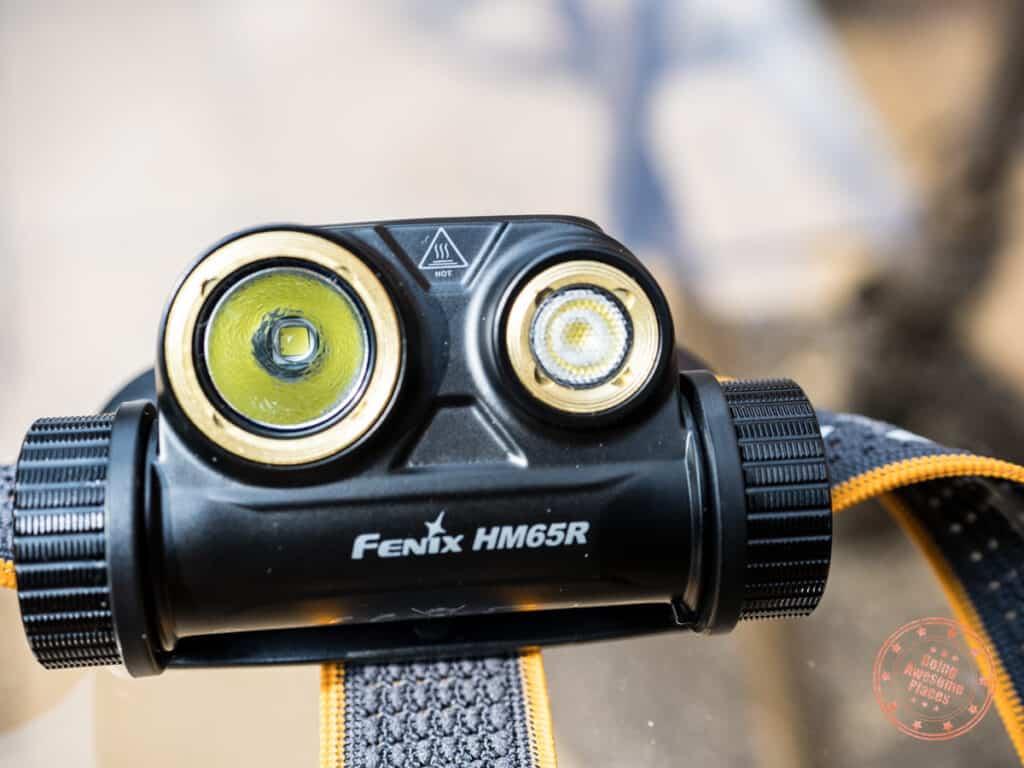 spotlight and floodlight leds of fenix hm65r
