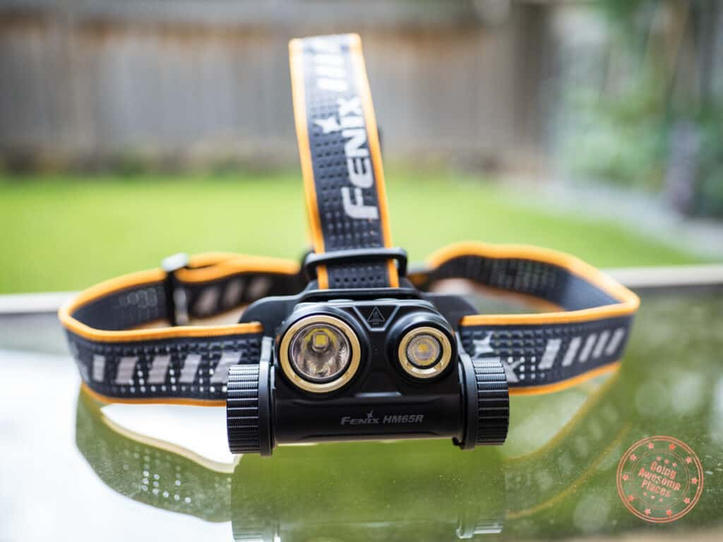fenix hm65r review of best headlamp for camping