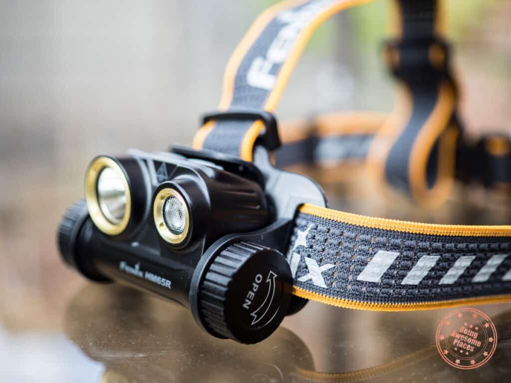 fenix hm65r headlamp review on brightness