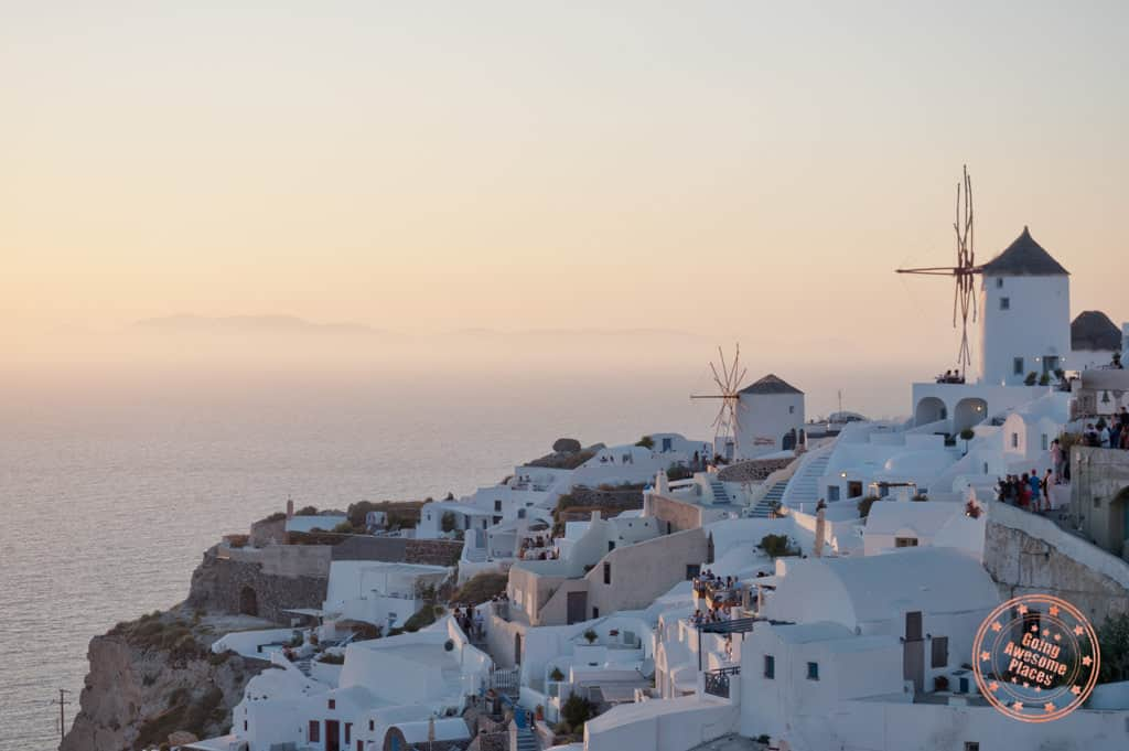 how many days in santorini guide including sunset in oia