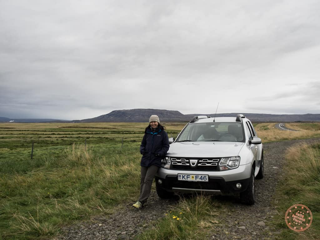 iceland car rent dacia duster suv