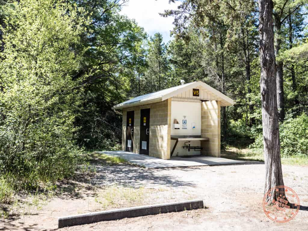 pinery provincial park guide and toilet stations