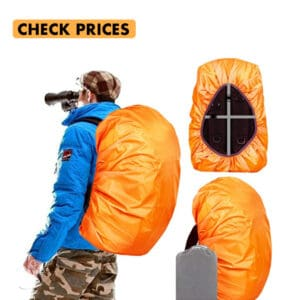 backpack rain cover is a must in any iceland packing list
