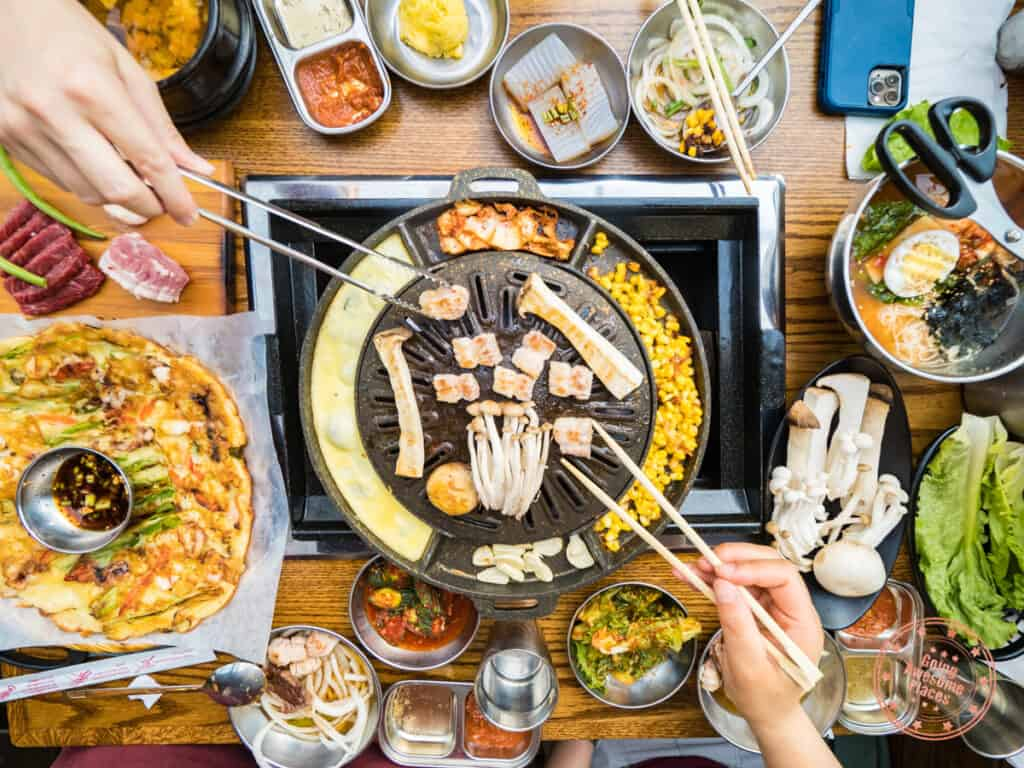 dal dong nae korean bbq north york restaurant