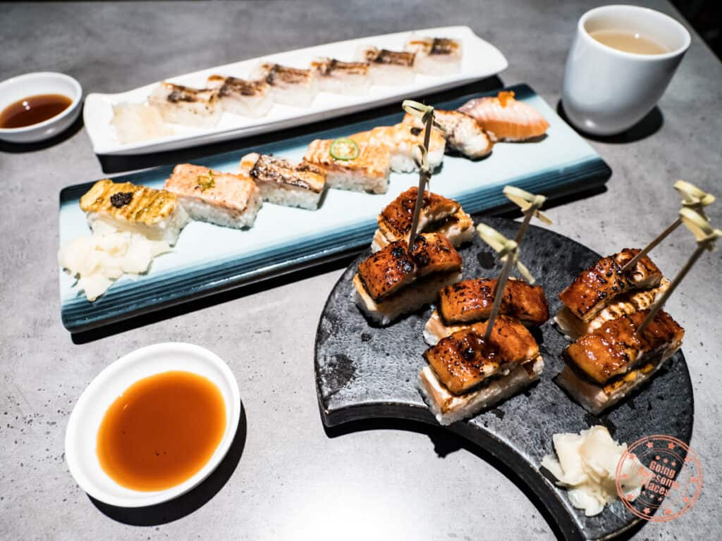 project fish oshi sushi and aburi in north york