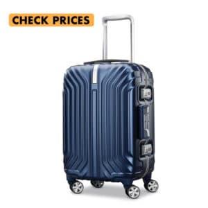 samsonite tru frame carry on spinner suitcase in iceland packing list