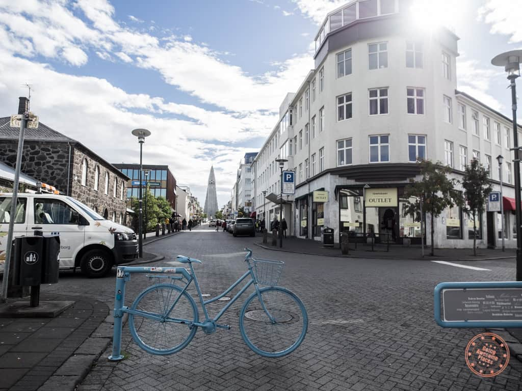 walking around reykjavik looking for the best icelandic souvenirs to gift friends and family