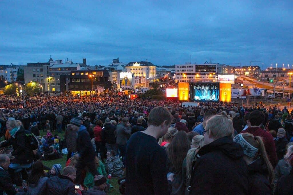 reykjavik culture night festival